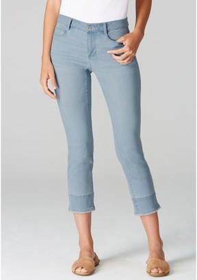 J. Jill J.Jill Authentic Fit Crop Pants with Fringe
