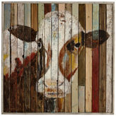 Pier 1 Imports Belle of the Farm Cow Wall Art