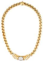 Chimento Diamond Collar Necklace