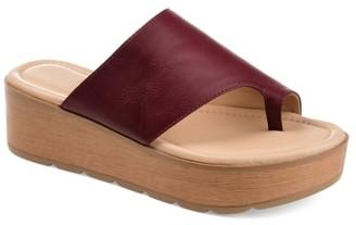 Journee Collection Arabel Wedge Sandal