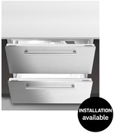 Hotpoint NCD191I 90cm Built-In Undercounter Fridge With Optional Installation