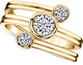 Sirena Energy Diamond Three-Row Ring (1/2 ct. t.w.) in 14k Gold