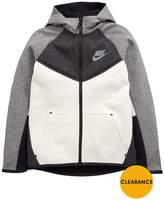 Nike Older Boy Tech Fleece Panel Hoody