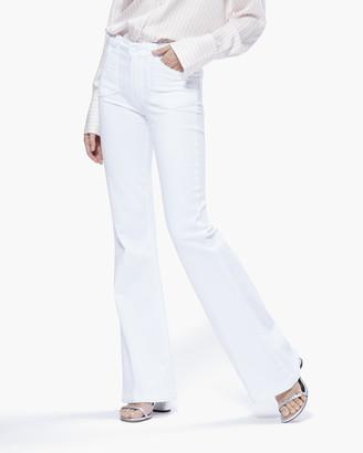 Paige Genevieve Peti Utility Pockets-Vivid White