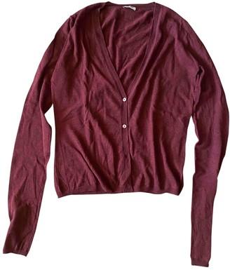 Miu Miu Burgundy Cashmere Knitwear for Women
