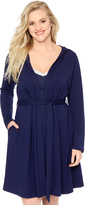 Motherhood Bump In The Night French Terry Maternity Robe