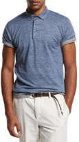 Brunello Cucinelli Linen-Cotton Polo Shirt