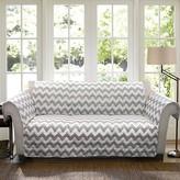 Nobrand No Brand Chevron Furniture Protector Gray/ White Sofa
