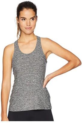 Beyond Yoga Travel Lightweight Racerback Tank Top (Black/White) Women's Sleeveless