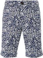 Pt01 printed shorts - men - Cotton/Spandex/Elastane - 48