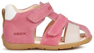 Geox Kids Kaytan Leather Sandals