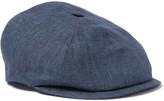 Lock & Co Hatters Linen Flat Cap