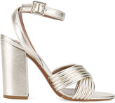 Tabitha Simmons metallic Nora sandals