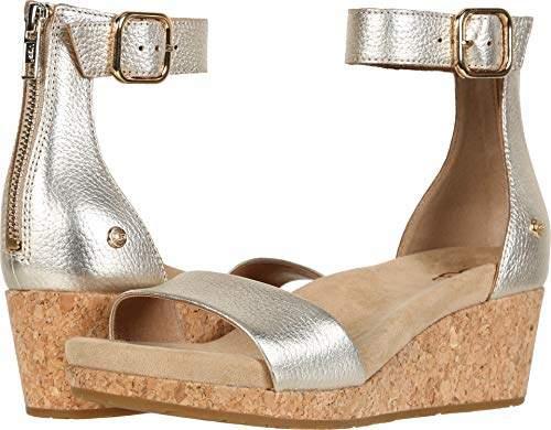 9560793def1 Women's Zoe II Metallic Wedge Sandal