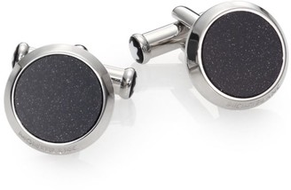 Montblanc Goldstone & Stainless Steel Cuff Links