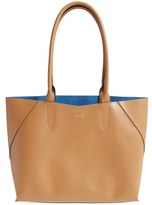 Lodis Blair Collection Cynthia Leather Tote - Brown