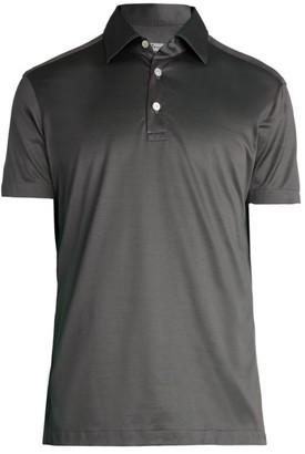 Kiton Pique Polo Shirt