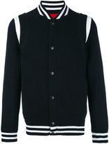 Givenchy jersey varsity jacket - men - Cotton/Polyamide/Polyester/Wool - XS