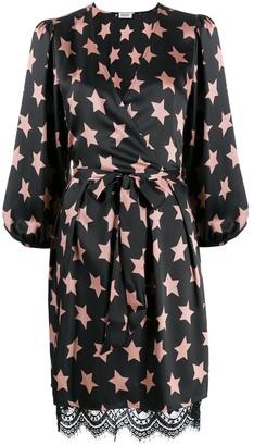 Liu Jo Starry Sky Print Wrap Dress