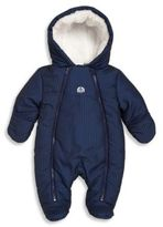 Absorba Babys Faux Fur-Trim Houndstooth Snowsuit