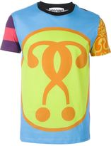Moschino double question mark print T-shirt - men - Cotton - 44