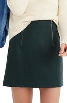 Madewell Women's Uptown Zip Miniskirt