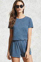 Forever 21 FOREVER 21+ Keyhole Cutout Romper
