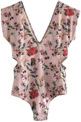Carolina K. Pink Lycra Swimwear for Women