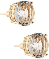 Greenbeads by Emily & Ashley Round Crystal Stud Earrings, Clear
