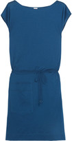 Eres Gri Gri Susan Cotton-jersey Mini Dress - Storm blue