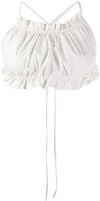 Loulou Ruched Effect Top