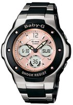 Casio Women's MSG300C-1B Baby-G G-MS Cool and Tough Ana-Digi Watch