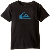 Quiksilver Mountain Wave Logo Screen Tee (Toddler/Little Kids)