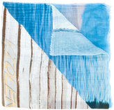 Faliero Sarti Funky print scarf - unisex - Silk/Cotton/Modal - One Size