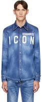 DSQUARED2 Blue Denim Western Shirt