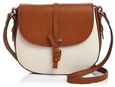 Foley + Corinna Coconut Island Canvas Saddle Bag