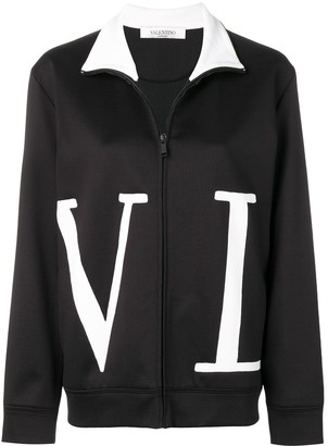 Valentino VLTN zip-up sweatshirt