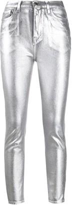 Pinko Metallic Skinny Jeans