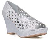 Celeste Hedy Metallic Wedge Sandal