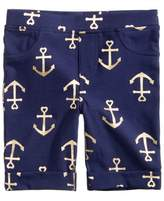 Epic Threads Anchor-Print Bermuda Shorts, Little Girls, Created for Macy's