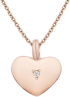 Ariana Rabbani 14K Rose Gold Diamond Necklace