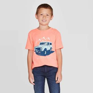 Cat & Jack Boys' Adventure Short Sleeve Graphic T-Shirt - Cat & JackTM