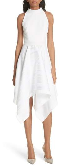 Ted Baker Draped Fit & Flare Dress