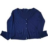 Miu Miu Blue Cashmere Knitwear