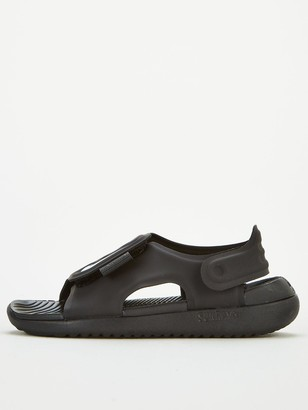 Nike Sunray Adjust 5 Childrens Sandal - Black White