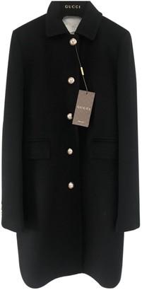 Gucci Black Wool Coats