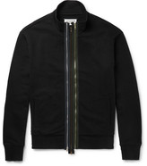 Maison Margiela Cotton-Jersey Zip-Up Sweatshirt