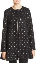 Kate Spade Glitter Dot Coat