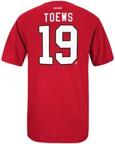 Reebok Chicago Blackhawks Jonathan Toews NHL Player T Shirt Men S