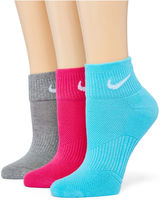 Nike 3-pk. Quarter Socks